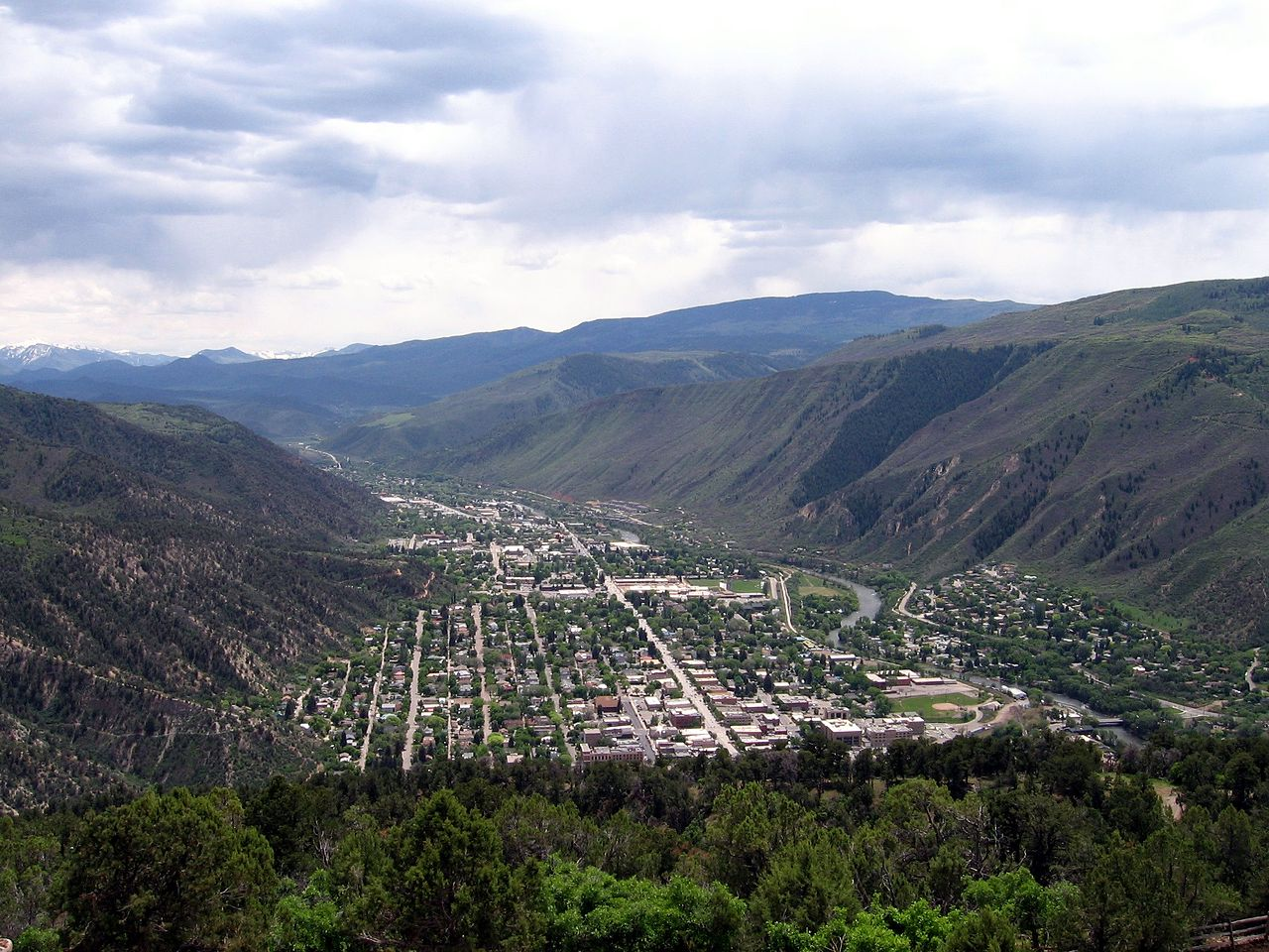 Glenwood Springs Elevation : Best mountain towns in colorado