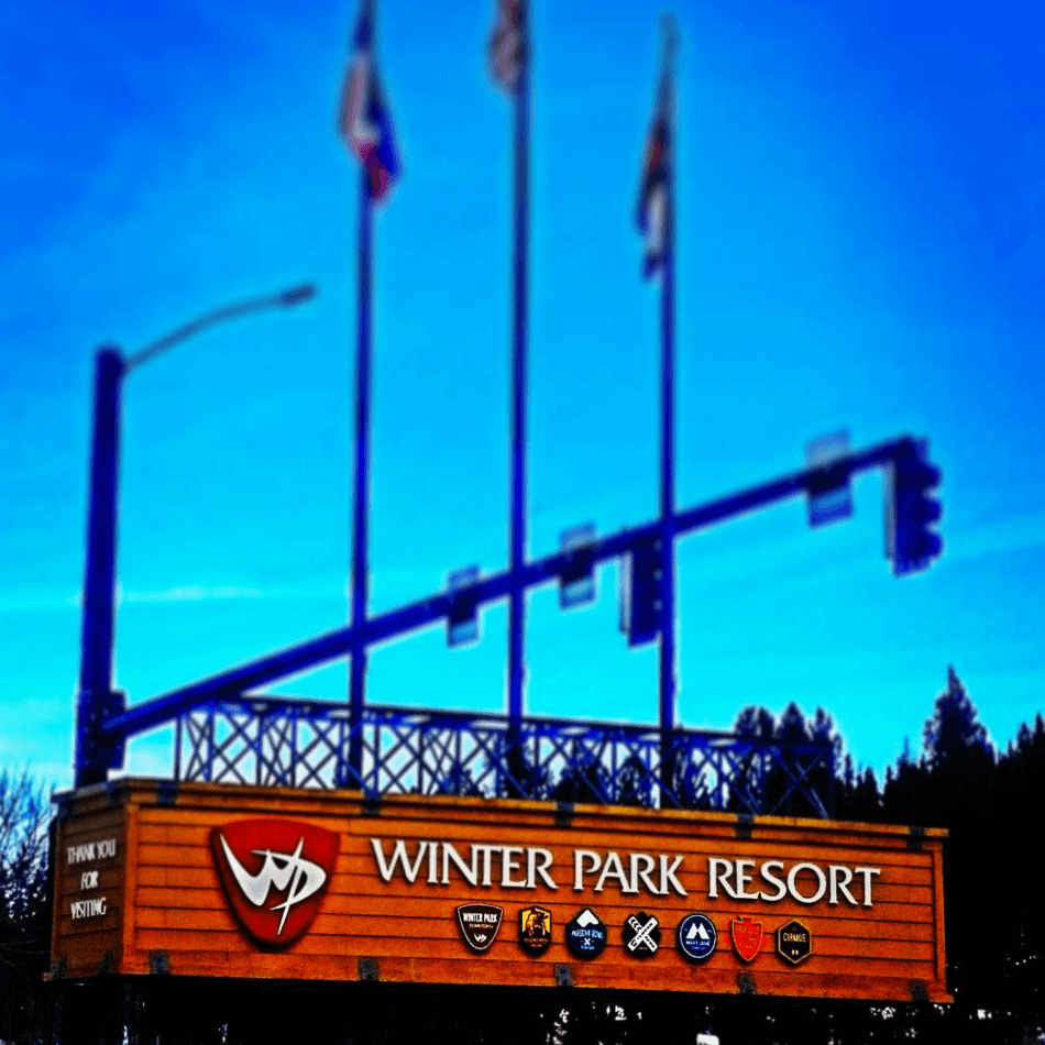 Winter Park Resort Sign