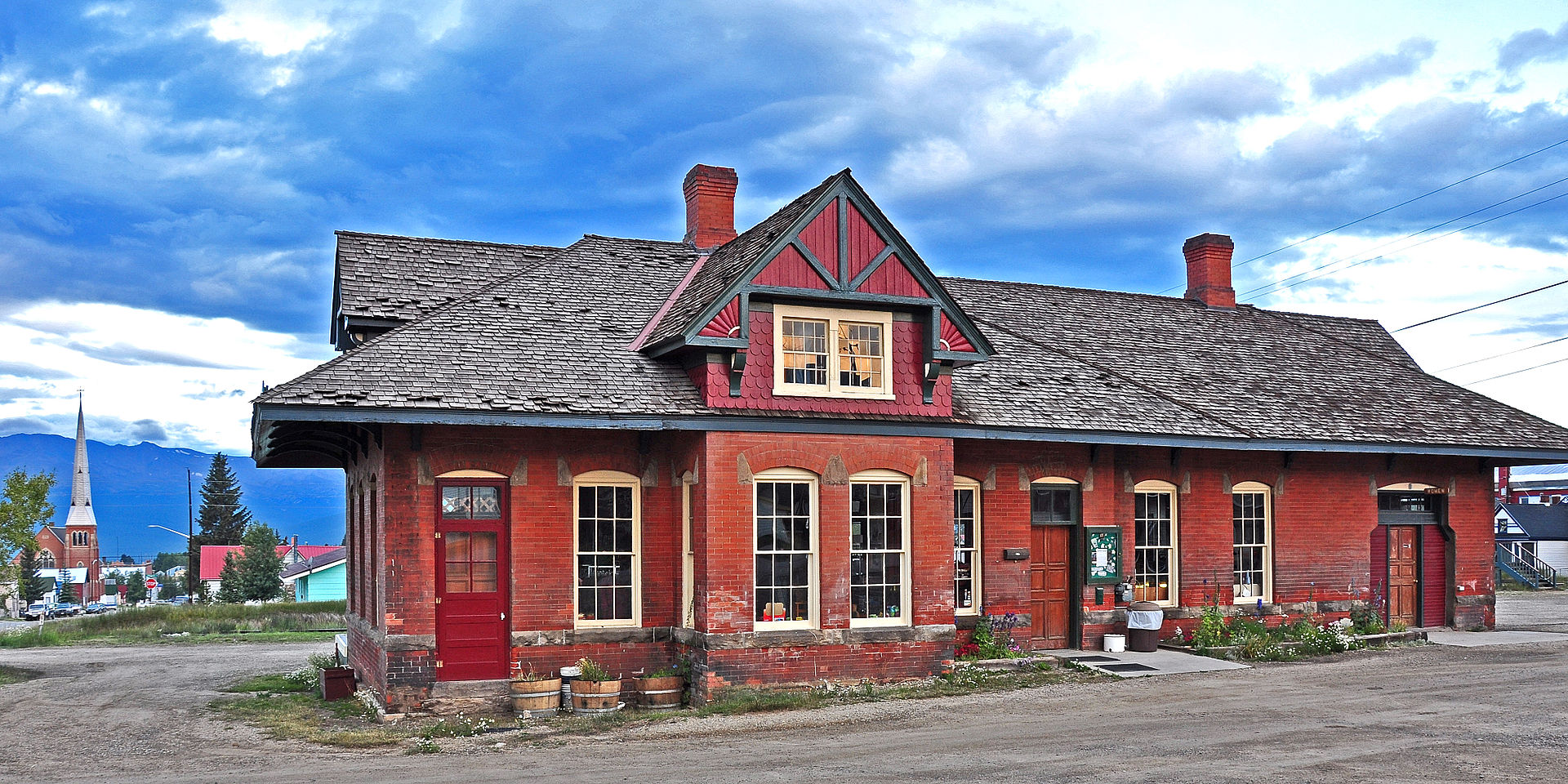Leadville Train Station
