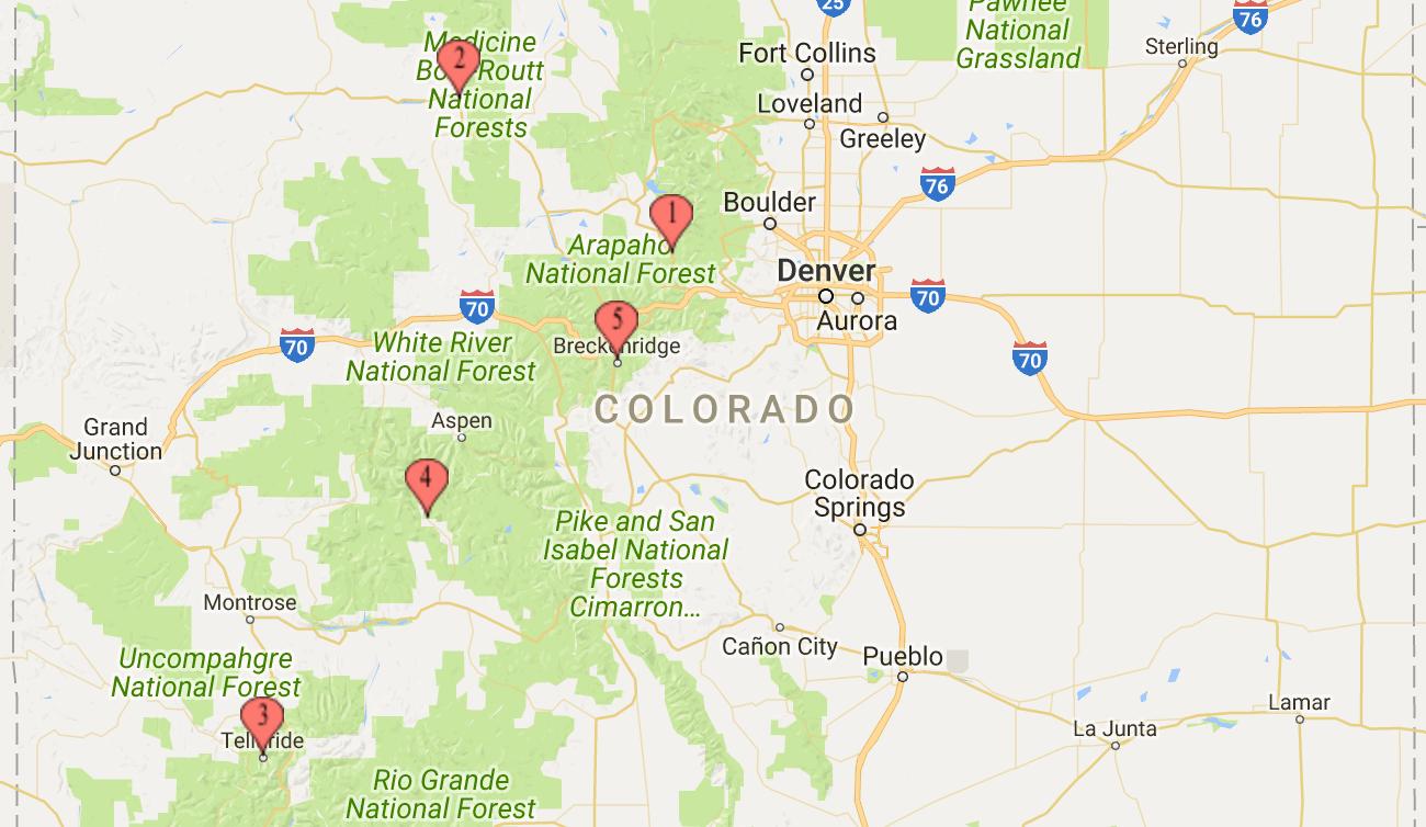 Colorado Best Ski Towns