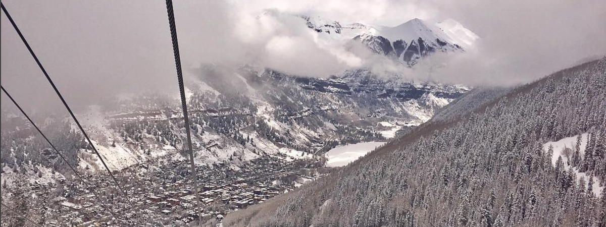 Colorado Ski Town Telluride