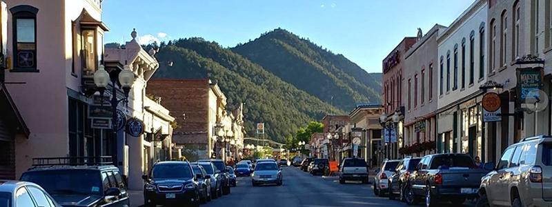Idaho Springs Mountain Town