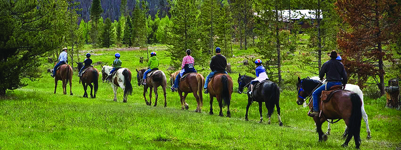 Winter Park Trail Horse Riding