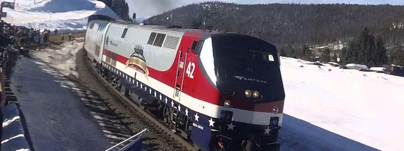 Amtrak Winter Park Ski Train