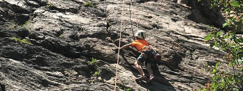 Upper Hurd Rock Climbing
