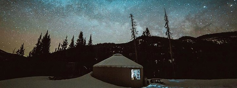 Pass Creek Yurt Glamping