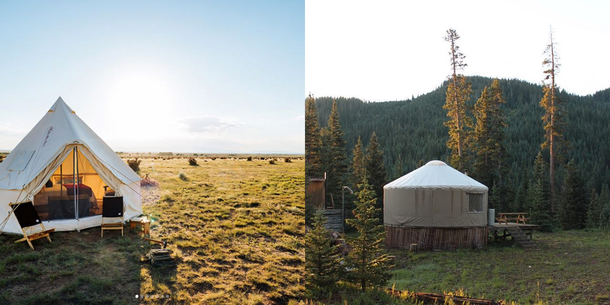 Best Glamping in Colorado Destinations