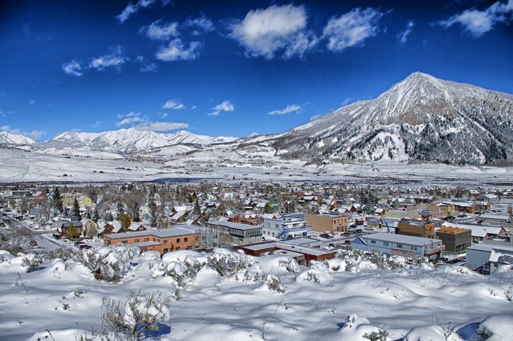 Crested Butte Mountain Town