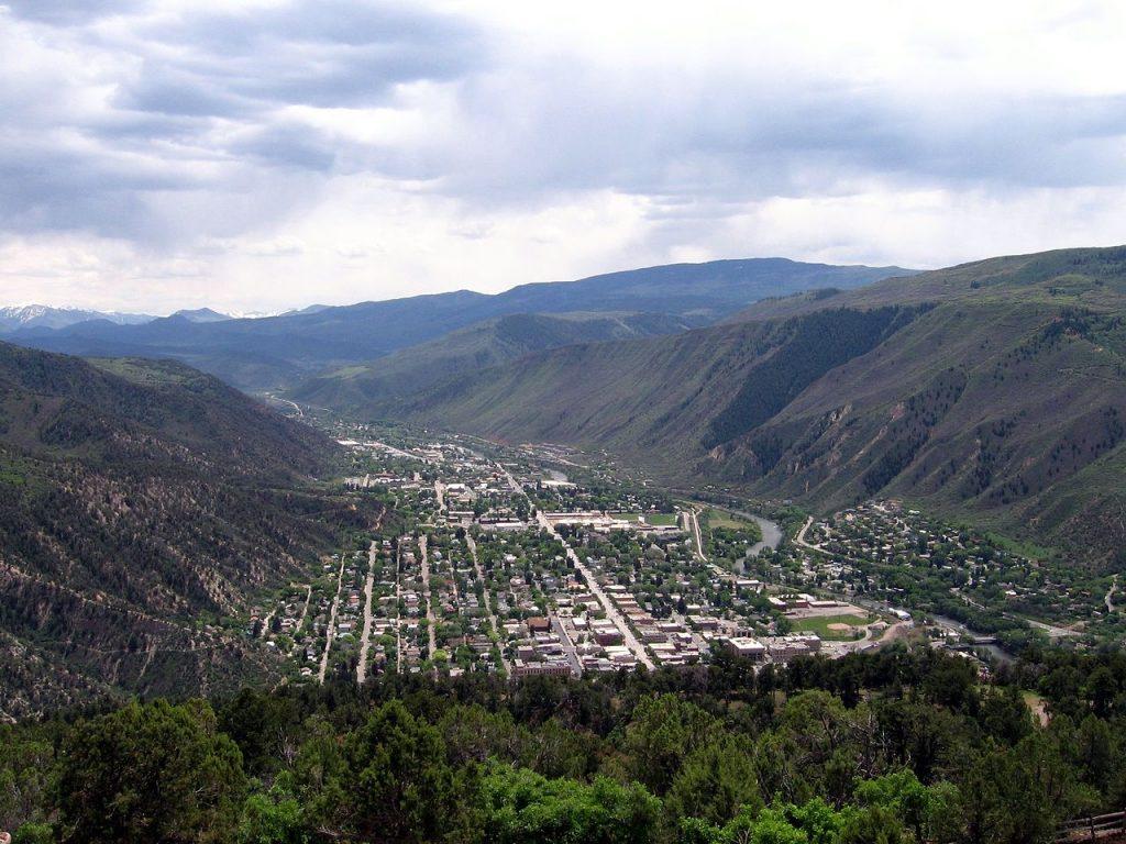 Glenwood Springs Colorado Mountain Town