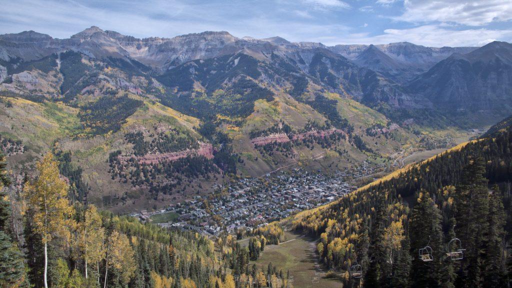Telluride Mountain Town Colorado