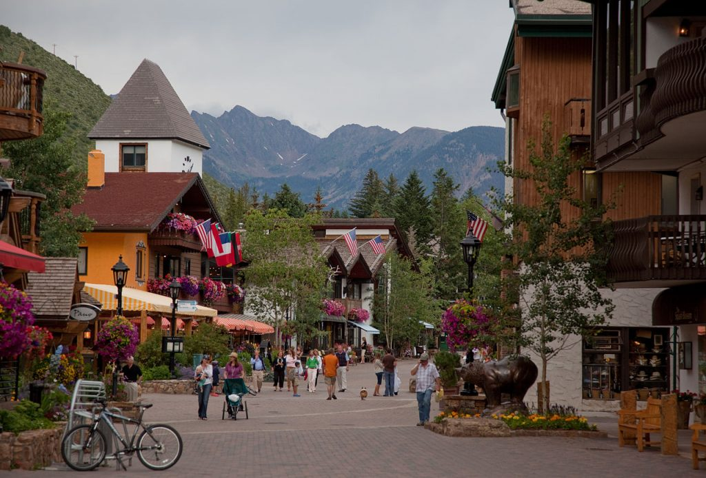 Vail Best Colorado Mountain Town