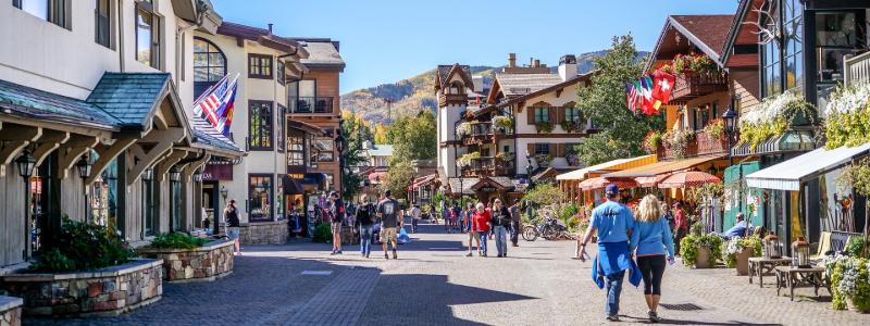 most beautiful mountains towns