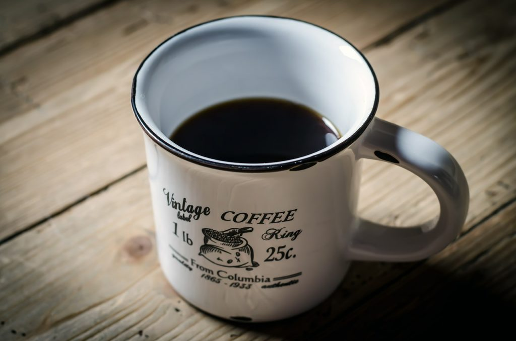 Coffee Cup Mountain Home