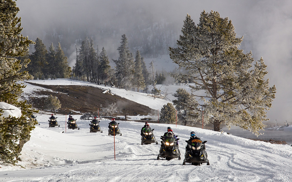 Winter Park Snowmobiling Things To Do