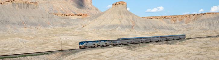 California Zephyr Train Ride