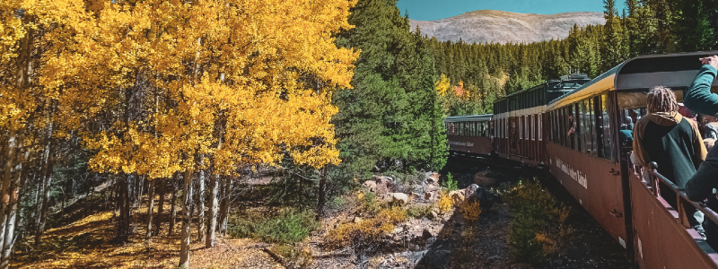 best trains in colorado