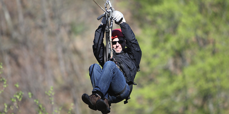 Winter Park Ziplining