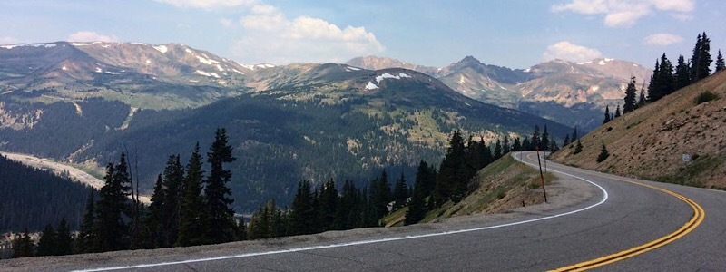 best drives in colorado