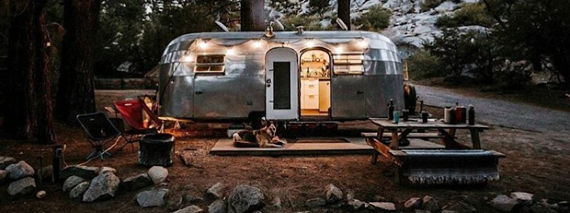 AirStream Glamping in Colorado