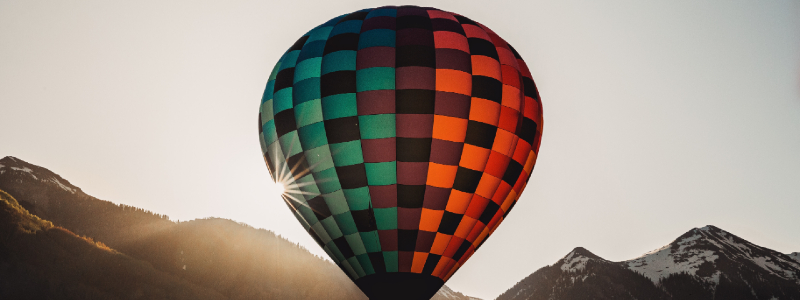 hot air balloon fraser colorado