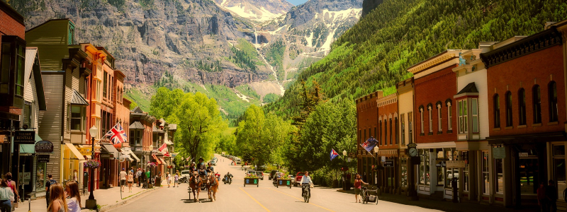 best colorado mountain towns